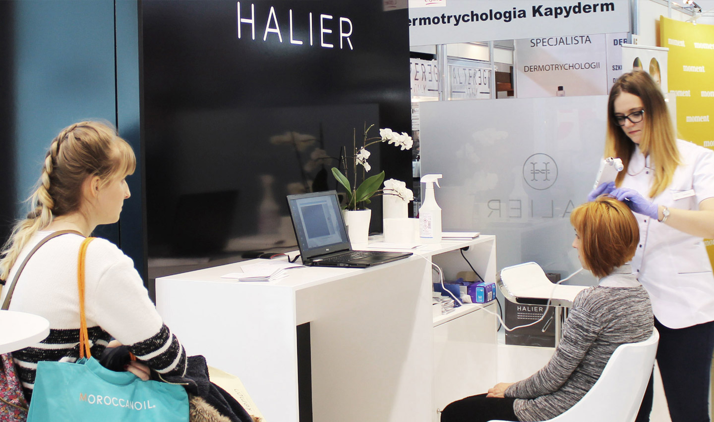 Halier at Hairdressing Fair LOOK